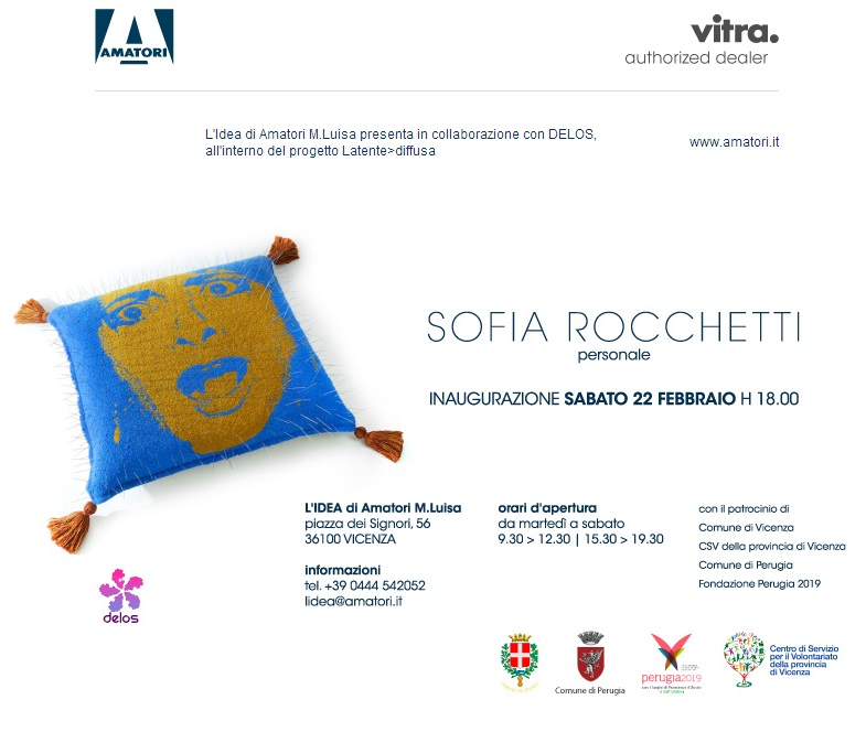 Sofia Rocchetti   invito mostra personale