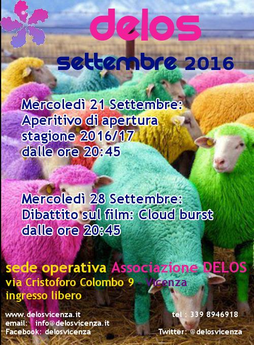 Programma settembre 2016
