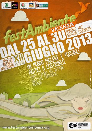 manifesto FestAmbiente Vicenza 2013 v.ridotta