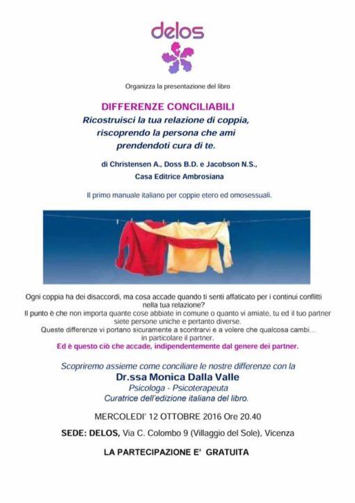 Differenze (In)Conciliabili